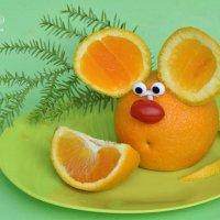 Такую мышку вы можете поставить каждому гостю на тарелочку. :: Лара Гамильтон