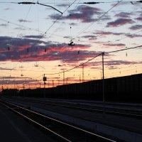 В дорогу на закат :: Валерий
