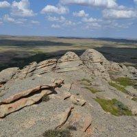Древние гранитные горы Коныркызылтау. :: Андрей Хлопонин