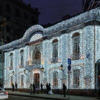 Новогодняя Москва. Прогулка по Тверскому бульвару. :: Надежда Лаптева