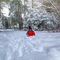 наконец то выпал снег :: Игорь