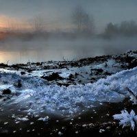 Рассветная кромка реки... :: Андрей Войцехов