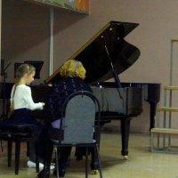 На репетиции. :: Елизавета Успенская