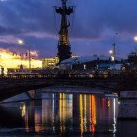Огни ночного города :: Сергей Козырев