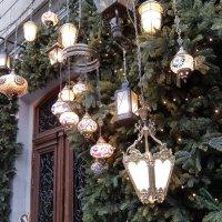 Рождественские фонарики. :: Люба