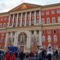 Москва новогодняя :: Yuriy V