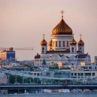 Собор Рождества Христова над городом. :: Александр Чеботарь