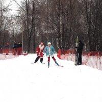 В забеге Дедов Морозов первой финишировала Снегурочка! :: Ильсияр Шакирова