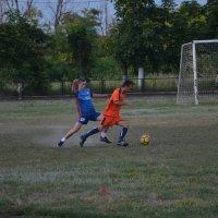 Городское соревнование по футболу :: Глеб Дубинин