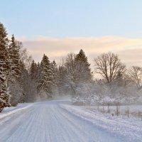 Дорога в Старый Новый год :: Marina Pavlova