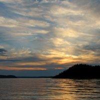 Ладожское озеро. Закат :: максим лыков
