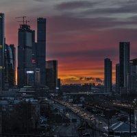 Редкий декабрьский рассвет... :: Ирина Шарапова