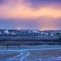 Ночной вид на Боровск :: Юлия Батурина