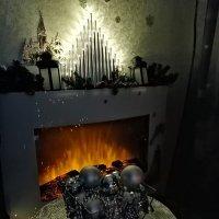 Новогодние игрушки, свечи и... :: ОКСАНА ЮРЬЕВНА ШВЕЦ