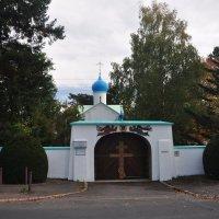 Ворота погоста. :: Александр Матвеев