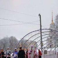 Прощальное выступление деда Мороза :: Галина