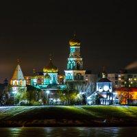 Казанский собор в ночных огнях :: Сергей Осин