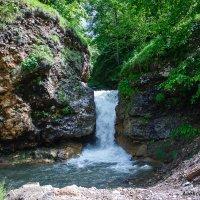 водопад на реке Гедмишх :: Александр Богатырёв