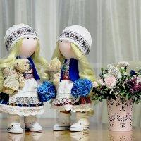 Куклы в национальных костюмах :: Marina Pavlova