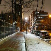 Зимняя аллея вечер :: Alexander Borisovsky