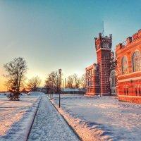 Магия зимнего заката. :: Анастасия Самигуллина
