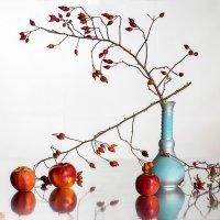 Шиповник с яблоками :: Евгений Кирюхин