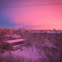 Вот такое доброе зимнее утро :: Дима Фотерберг