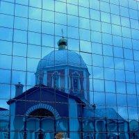 Воскресенско-Ильинский храм. Деревянная церковь построена в 1649 году. Каменный храм освящен в 1768 :: Надежд@ Шавенкова