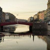 Красный мост (Санкт-Петербург) :: Игорь Свет