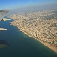 Под крылом самолёта Тель-Авив :: Зуев Геннадий