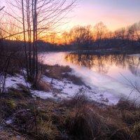 Закат на реке Солотча :: Константин Тимченко