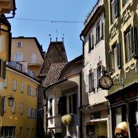 Мерано – старинный город в Альпийской долине на севере Италии :: backareva.irina Бакарева