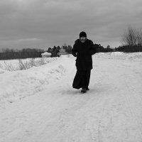 Отец Михаил во Введено-Оятском монастыре :: Зуев Геннадий