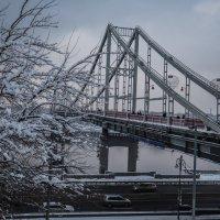 Пешеходный мост, Киев :: Олег
