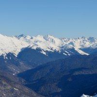 Снежные вершины :: Татьяна Тюменка