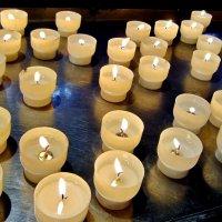 Горящие свечи - символ новых перспектив :: Елена (ЛенаРа)