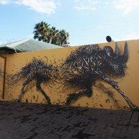 Графити в Виндхуке :: Зуев Геннадий