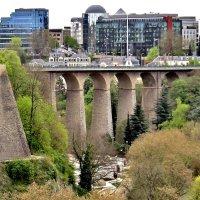 Мост Адольфа - единственный каменный мост в Европе :: Елена (ЛенаРа)