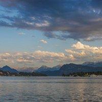 Закат над Фирвальдштедским озером :: Дмитрий .