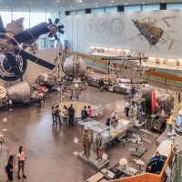 Панорама зала ракетно-космической техники :: Boris Zhukovskiy
