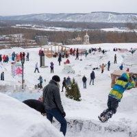 Праздник в Кузнецкой крепости :: Валерий Михмель