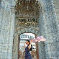 У мечети султана Сулеймана... :: Ирина Лепнёва
