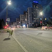 ночной горд Петрозаводск :: Валерия Воронова