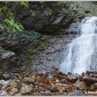 Водопад  в Тызыльском ущелье :: Александр Богатырёв