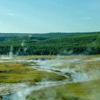 На пути к Norris Geiser Basin (поля гейзеров Norris), штат Вайоминг :: Юрий Поляков