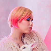 Портрет с кроликом :: Анастасия Белякова