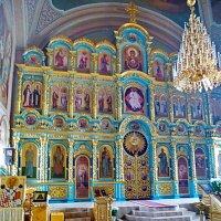 Иконостас собора Казанского монастыря в Рязани :: Александр Чеботарь