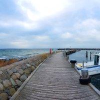 Панорама.Рыбатский катер. :: Mila .