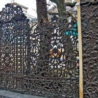 Чугунная ограда бывшей усадьбы Демидовых. :: Ольга Довженко