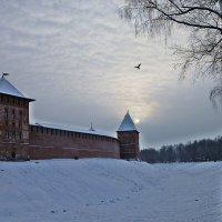Вечером у стен Кремля :: Лидия Бусурина